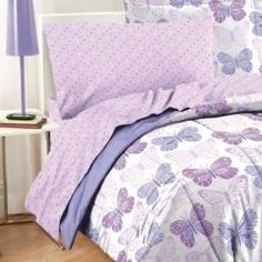 Girls love the best butterfly bedding collection. Find them feeling at ease and joy as they watch the lovely butterflies transform their room...