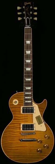 Gibson Custom2015 True HistoricTom Murphy Aged1959 Les Paul.90-1.00/8.60 lbsVintage Lemon BurstSold