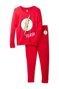 03620533c7106 Long Sleeve Flash Vintage Tight Fit Pajama Set (Little Boys & Big Boys)