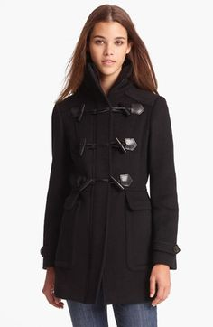 Burberry London Felted Wool Toggle Coat available, at #Nordstrom, $995