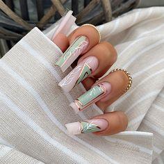Kylie Nails, Glam Nails, Fancy Nails, Stylish Nails, Trendy Nails, Ballerina Nails, Luxury Nails, Fire Nails, Best Acrylic Nails