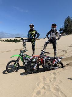 Dirtbike couple. Dunes couple. Mx life. Dirt Bike Couple, Motocross Couple, Motocross Girls, Motorcycle Couple, Dirt Bike Girl, Girl Dirtbike, Motorcycle Quotes, Triumph Motorcycles, Touring Motorcycles