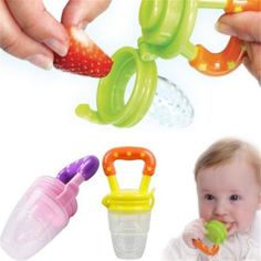 Nipple Fresh Fruit Pacifier Food Milk Nibbler mamadeira Feeder Feeding Tool Bell Safe Baby Bottles 3 Size christmas gift