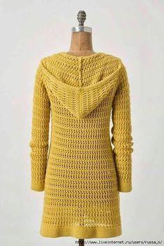 99 Besten Mantel Bilder Auf Pinterest Yarns Crochet Coat Und