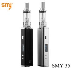 Vape SMY 35 Box M... Now available on our store http://www.yabizy.com/products/vape-smy-35-box-mod-kit-electronic-cigarette-vaporizer-1-35-w-e-cigarette-vape-pen-e-hookah-smok-vct-pro-atomizer-kit-x9018?utm_campaign=social_autopilot&utm_source=pin&utm_medium=pin ......Free shipping worldwide on all orders over € 5.