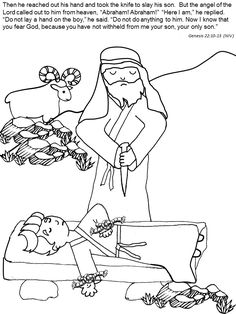 Abram and Lot Separate | Coloring Pages | Pinterest ...