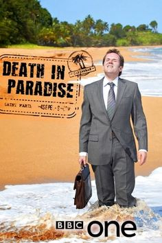 BBC's Death In Paradise - one of the many British detective shows I love to watch on PBS masterpiece mystery