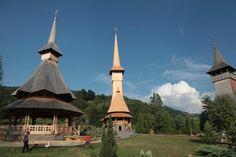Barsana Monastery, Maramures, RO