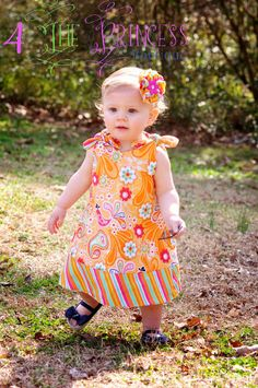 love!! sherbert sweet reversable knot sundress