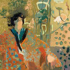Risultati immagini per linda christensen artist Abstract Portrait, Portrait Art, Abstract Art, Portraits, Abstract Expressionism, Audrey Kawasaki, Andrew Wyeth, Akira, Bay Area Figurative Movement