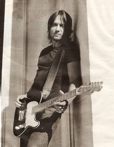 Keith Urban in sephia.... Classy rocker