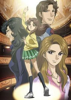glass no kamen Glass mask good anime c: about becoming an actress, must catch up on episodes also!