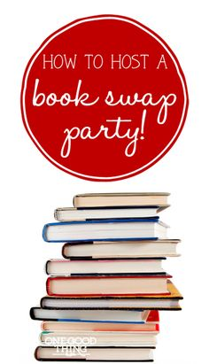 How To Host A Book Swap Party!