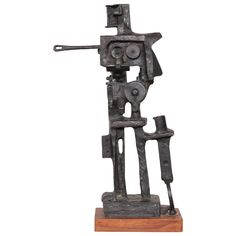 """Bronze Sculpture by Abbott Pattison of Chicago - measures 23"""" high by 14"""" wide by 4"""" deep. Dealer asking $4500 on 1stDibs..."""