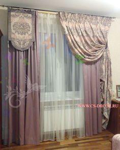 Классические шторы 129