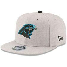 0842f6d79f1 New Era Carolina Panthers Heathered Gray Hype 9FIFTY Snapback Adjustable  Hat Carolina Panthers Game