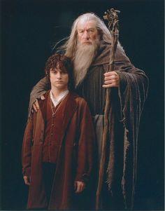 Frodo & Gandalf