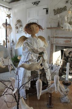 White Christmas Angel by Cathy Pendleton. Cheswick Company