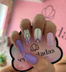 Love Nails, Pretty Nails, Nail Arts, Nail Tech, Nails Inspiration, Hair And Nails, Nail Art Designs, Acrylic Nails, Beauty Hacks