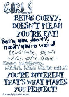 Plus size quotes, curvy quotes, god made you, love no more, you are perfect You Are Perfect, Love You, Woman Quotes, Me Quotes, Plus Size Quotes, Beauty Quotes For Women, Plus Size Tips, God Made You, Smile Because