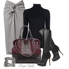 women classy outfits | Classy Outfit Ideas | Silver Details | Fashionista Trends