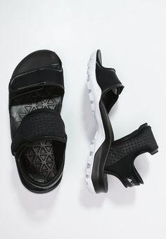 31c7b452e9de adidas by Stella McCartney HIKIRA - Walking sandals - black white -  Zalando.co.uk
