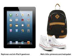 Repinne dieses Bild und vielleicht gewinnst du ein nagelneues iPad der 4. Generation! Erfahre mehr unter https://www.meinpaket.de/de/article/pinterest_gewinnspiel/view.html?cid=c_dhlmp_be_dpcom_00056_00005_Pteaser