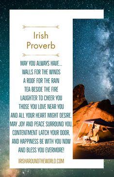 100 Of The Best Irish Sayings, Irish Blessings, Irish Wisdom And More