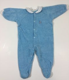 A personal favorite from my Etsy shop https://www.etsy.com/listing/502426205/boys-vintage-footie-pajamas-size-12