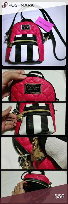 Selling this NWT Betsey Johnson backpack, cross body bag on Poshmark! My username is: apatel43. #shopmycloset #poshmark #fashion #shopping #style #forsale #Betsey Johnson #Handbags