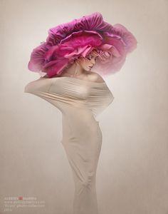 Aleksey Marino flower hat