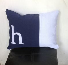 Girls Monogrammed nursery pillows Modern Home by Snazzyliving, $30.00