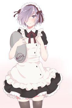 tokyo ghoul; maid touka
