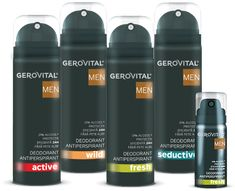 Gerovital Men Deodorant, Shampoo, Personal Care, Bottle, Beauty, Alcohol, Rome, Self Care, Personal Hygiene