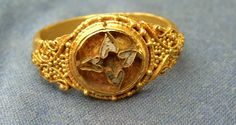 Anglo-Saxon gold ring