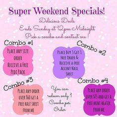 Weekend Special. Don't miss out at angjams23.jamberry.com.