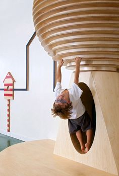 Kfar Shemaryahu Kindergarden designed by Sarit Shani Hay | custom-designed indoor play structures