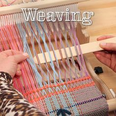 Learn loom weaving, rigid heddle weaving, spindling and advanced color spinning from professional fiber artist. Make unique yarn and fabric!