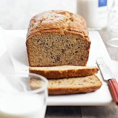 Banana Bread: The classic bread, flavored with a little cinnamon, nutmeg and ginger. Recipe: http://www.midwestliving.com/recipe/banana-bread/