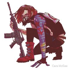 Punk!Winter Soldier