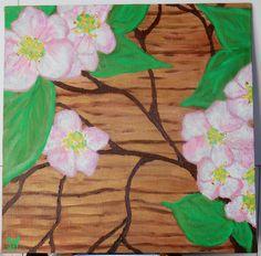 fleurs de cerisiers 40x40cm via PayFacile