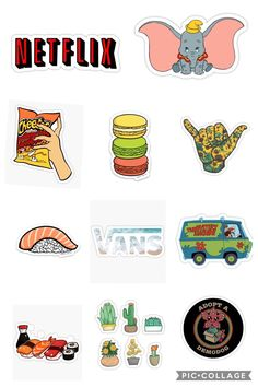 Brand Stickers, Phone Stickers, Cool Stickers, Journal Stickers, Scrapbook Stickers, Printable Stickers, Planner Stickers, Photos Booth, Homemade Stickers