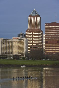 Downtown in Portland, Oregon. Go to www.YourTravelVideos.com or just click on photo for home videos and much more on sites like this.