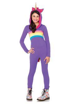 Tween Rainbow Unicorn Costume