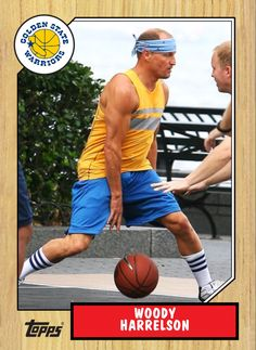 Woody Harrelson led the Golden State Warriors to an unprecedented 58 NBA championships