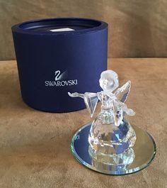 Swarovski Angel Crystal figurine mirror display base Nativity Wing 7475 000 600