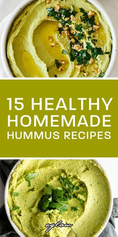 Hummus is a perfect source of protein, especially to vegans. From avocado hummus, to garlic hummus. Lentil Hummus, Edamame Hummus, Garlic Hummus, Avocado Hummus, Vegan Hummus, Olive Hummus Recipe, Spinach Hummus Recipe, Hummus Recipe Variations, Eggplant Hummus