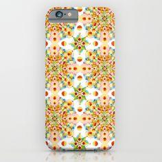 Pastel Carousel Mandala iPhone & iPod Cases by #PatriciaSheaDesigns