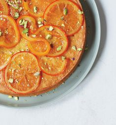 Baking with olive oil is not all that common in the States, yet, but done frequently in Italian kitchens where desserts are more balanced between sweet and savory. The  olive oil in this recipe complements the candied orange flavor beautifully.