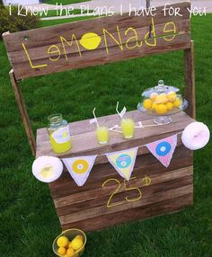Lemonade Stand   Visit & Like our Facebook page! https://www.facebook.com/pages/Rustic-Farmhouse-Decor/636679889706127